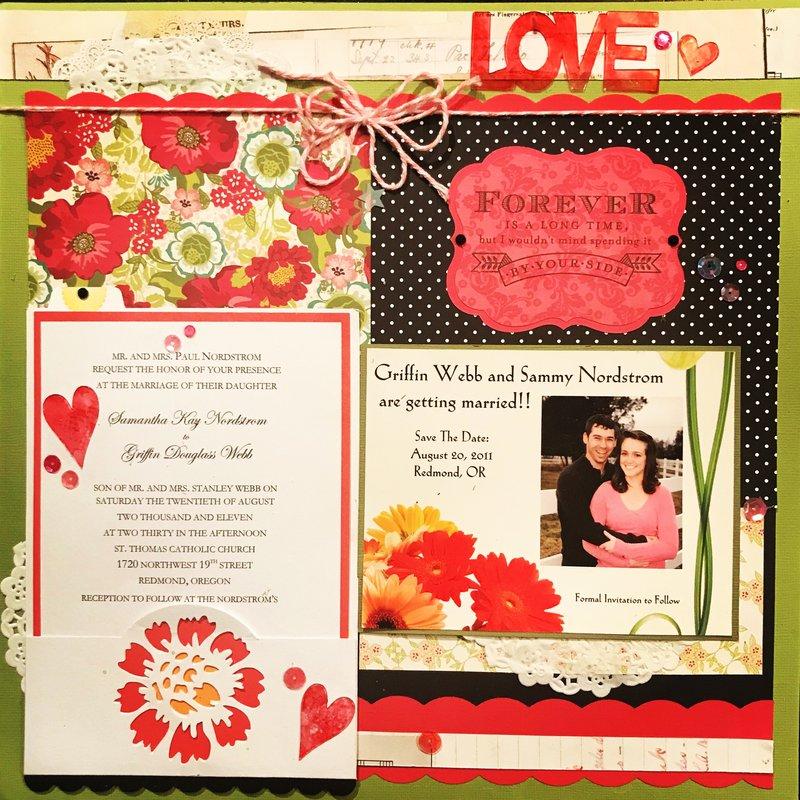 ~Griffin & Sammy's Wedding Invite & Save The Date~