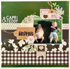 ~Capri & Teddy~