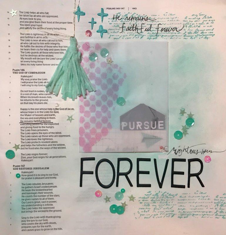 Bible Journaling ~ Illustrated Faith
