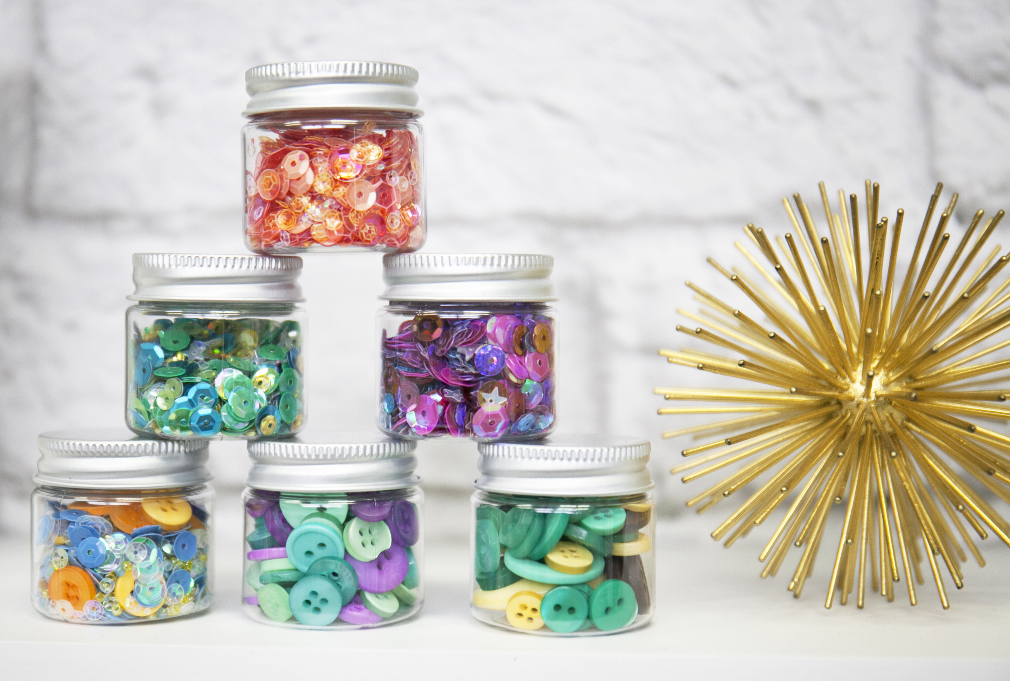 Sequin and Button Storage with Tim Holtz