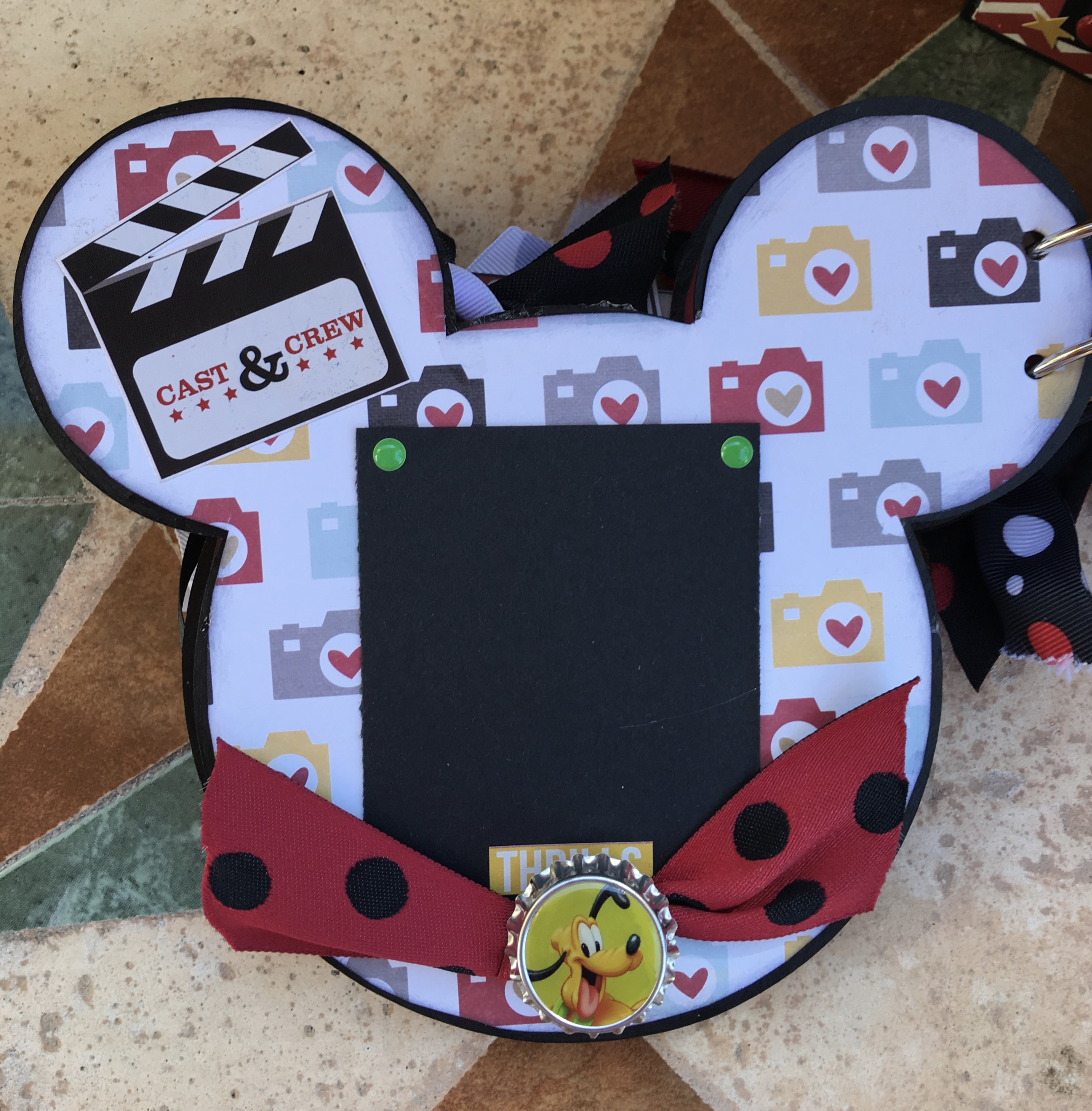 Reverse Minnie Mouse Album