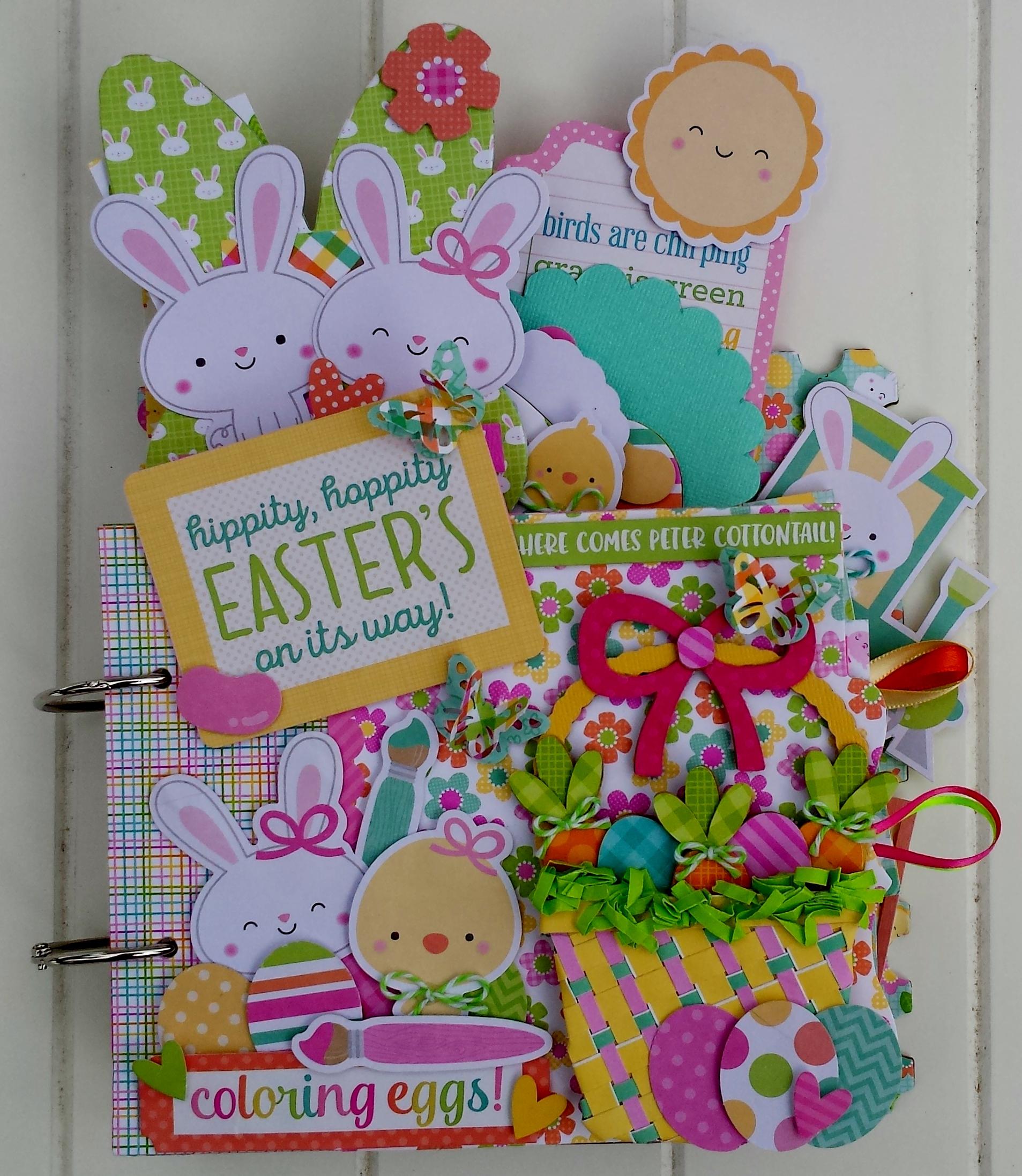 Hippity Hoppity Easter S On Its Way Mini Album Kit
