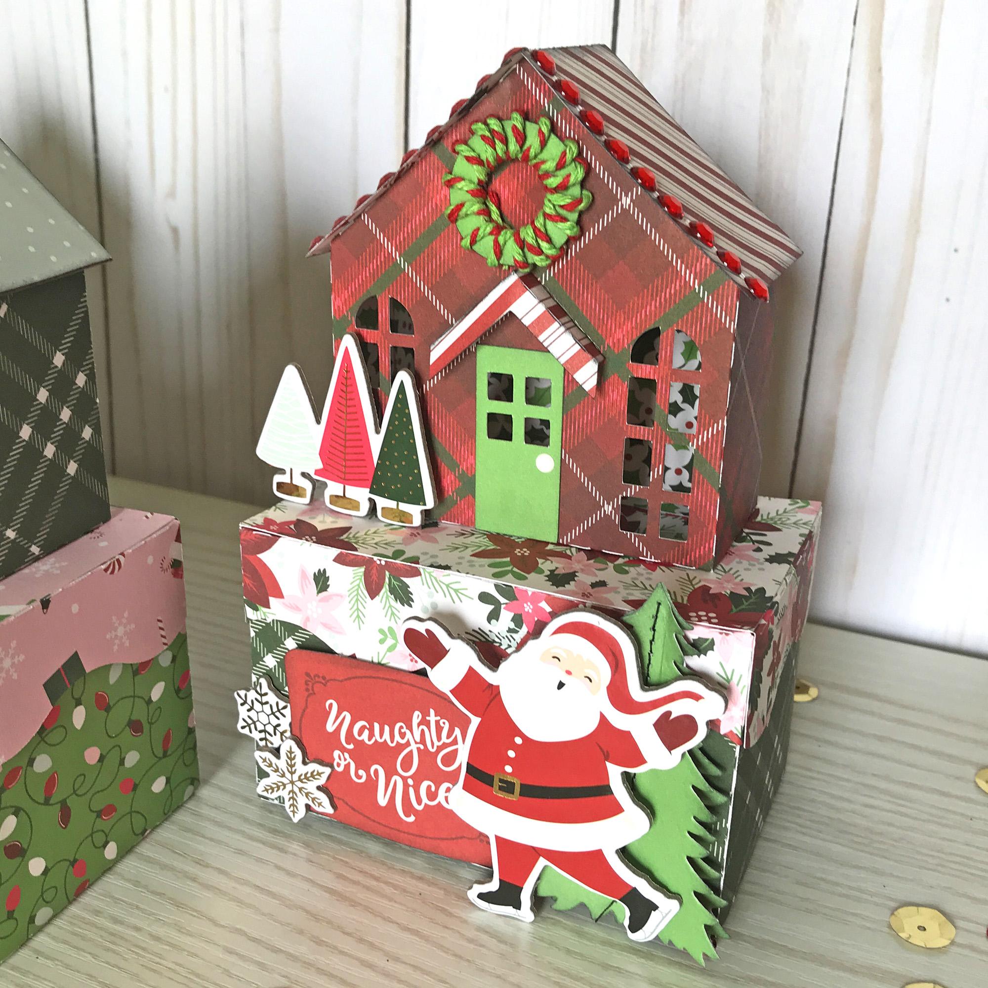 christmas box house gift boxes