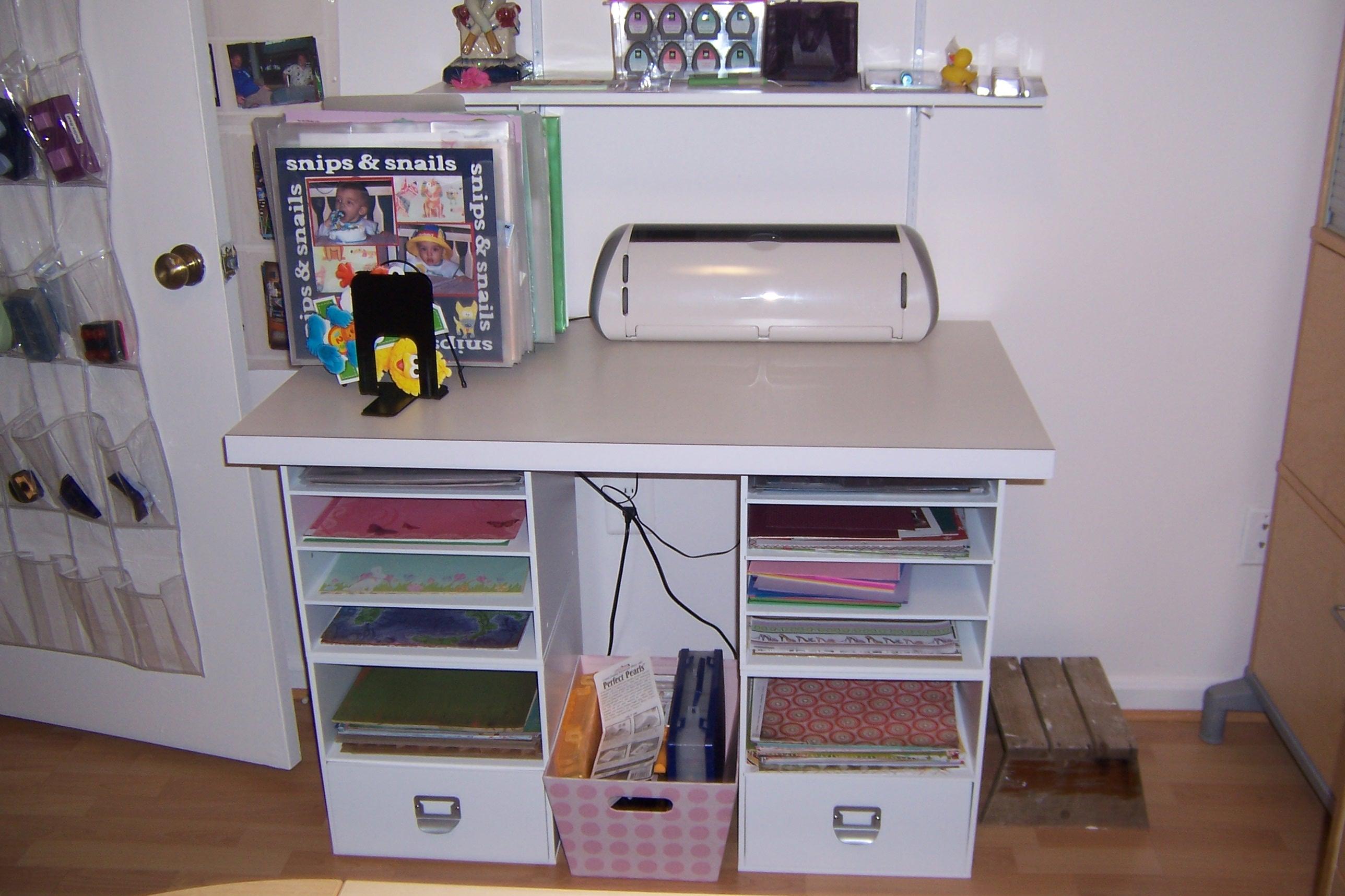 Cricut Craft Room Help: My Scrap Room Cricut Table