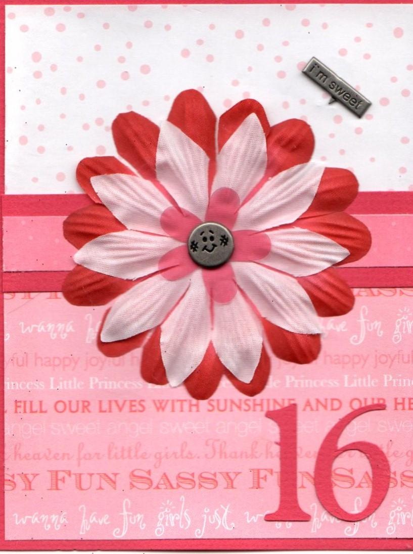 16 Birthday Card – Sweet 16 Birthday Cards