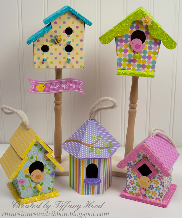 Other Hello Spring Birdhouses Doodlebug Design