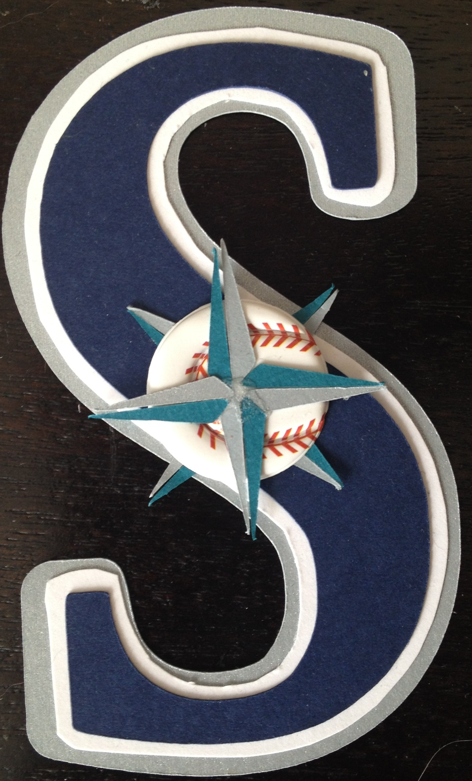 Seattle Mariners Cricut Logo