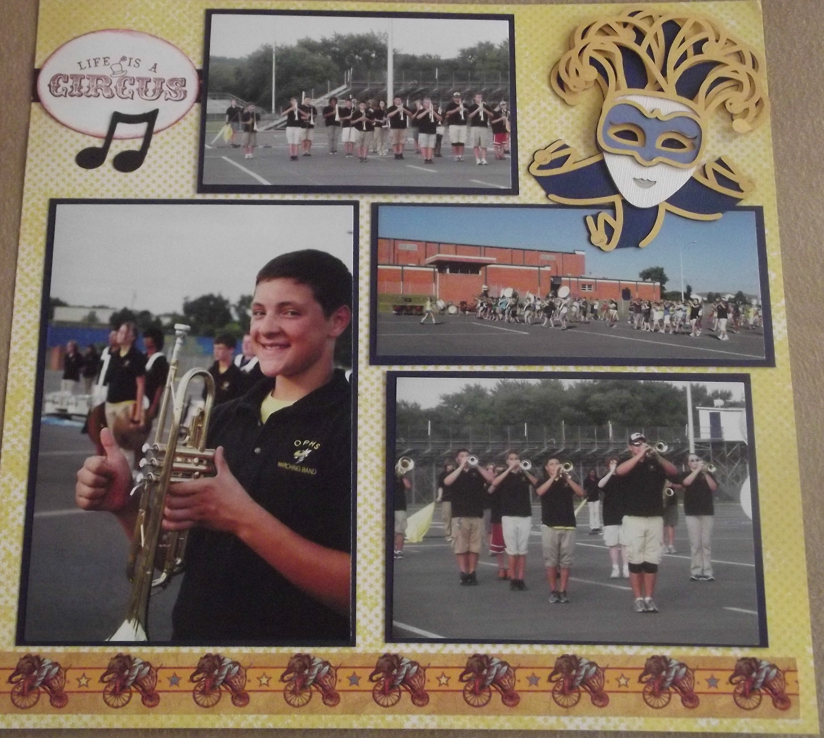 High School Marching Band Layout Page 11