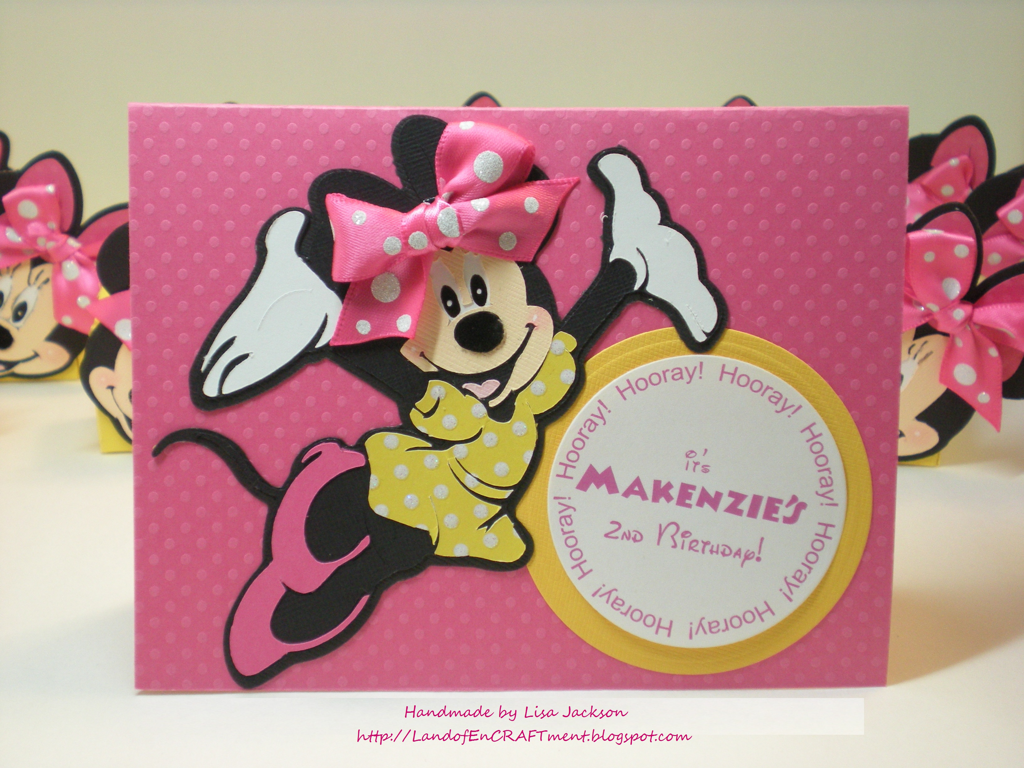 My Minnie Mouse Invitations