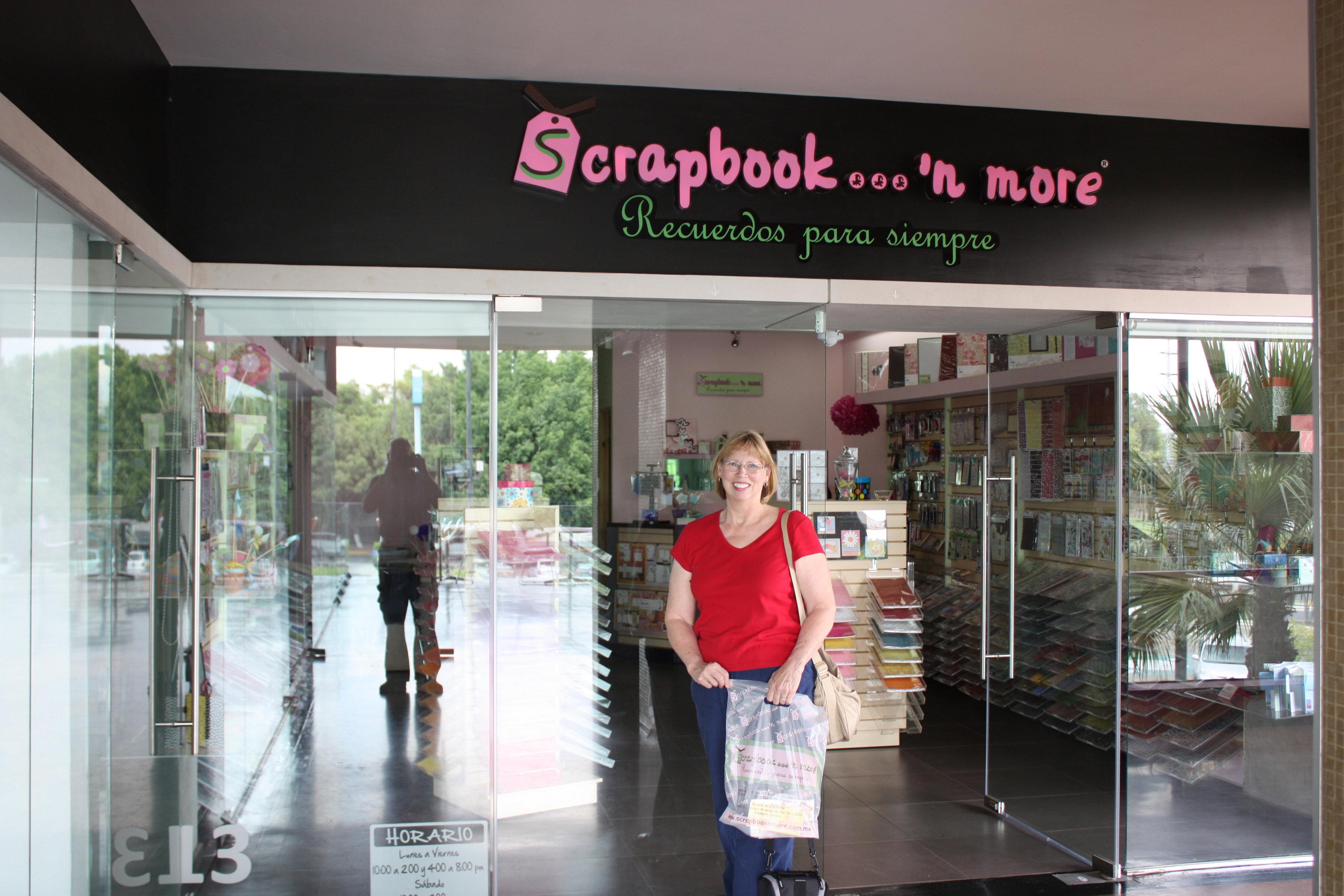 Scrapbook Store In Guadalajara Mexico