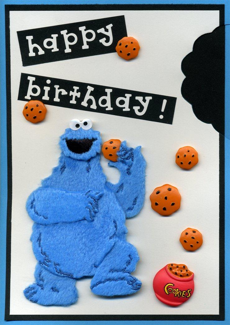 Cookie monster happy birthday house cookies cookie monster happy birthday bookmarktalkfo Choice Image