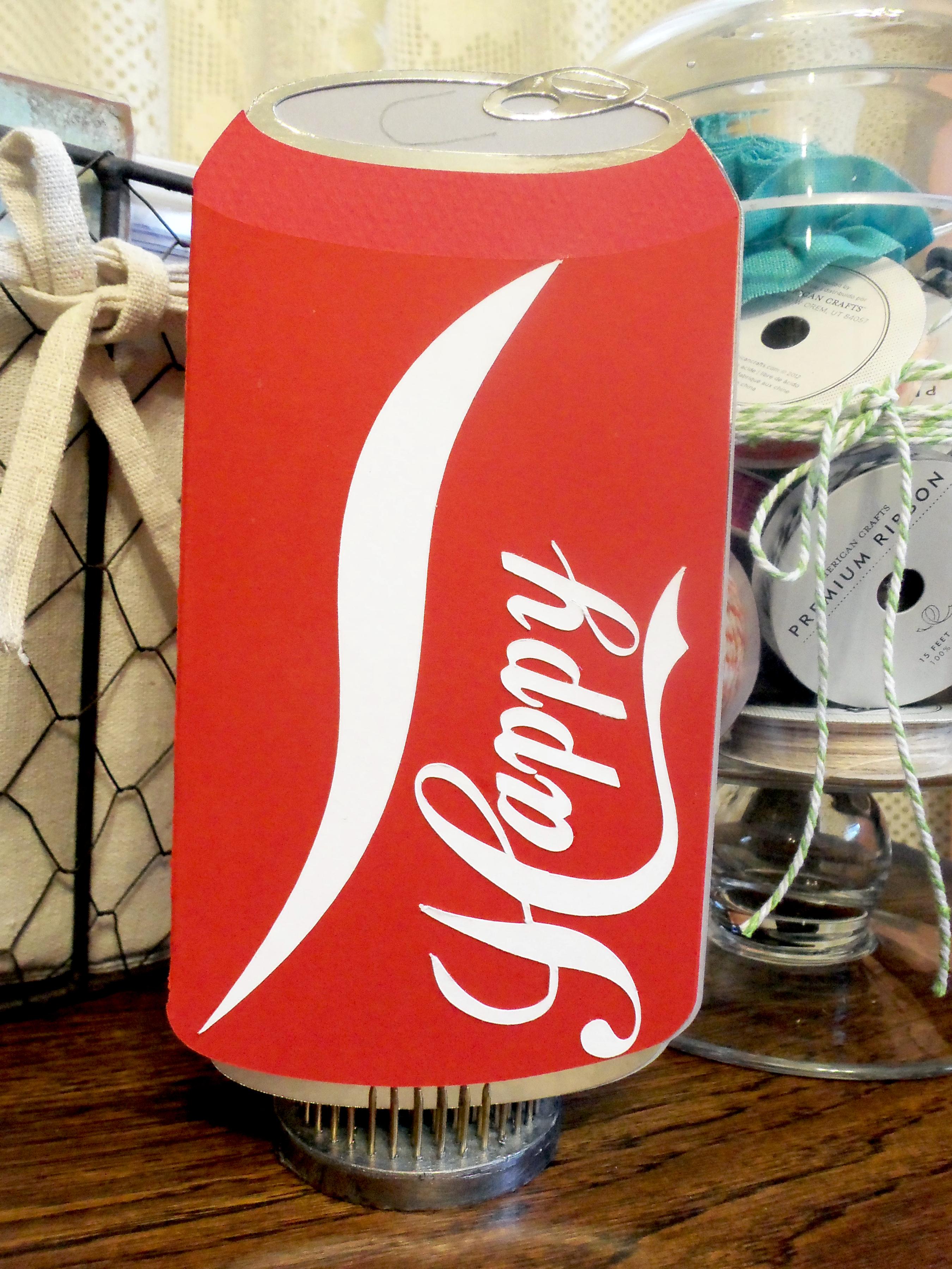 Happy Birthday Coca-Cola Card