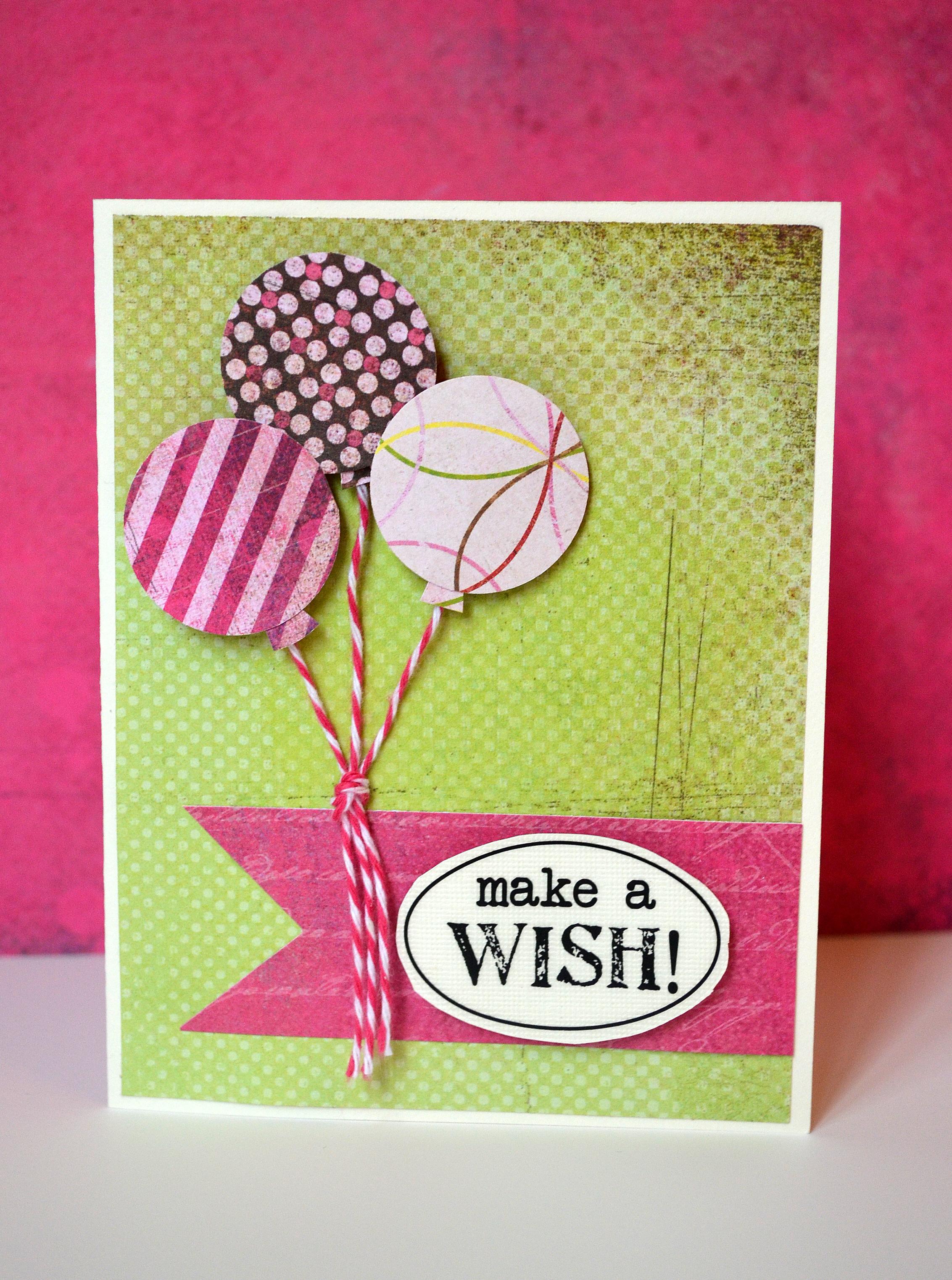 Make A Wish Happy Birthday Card