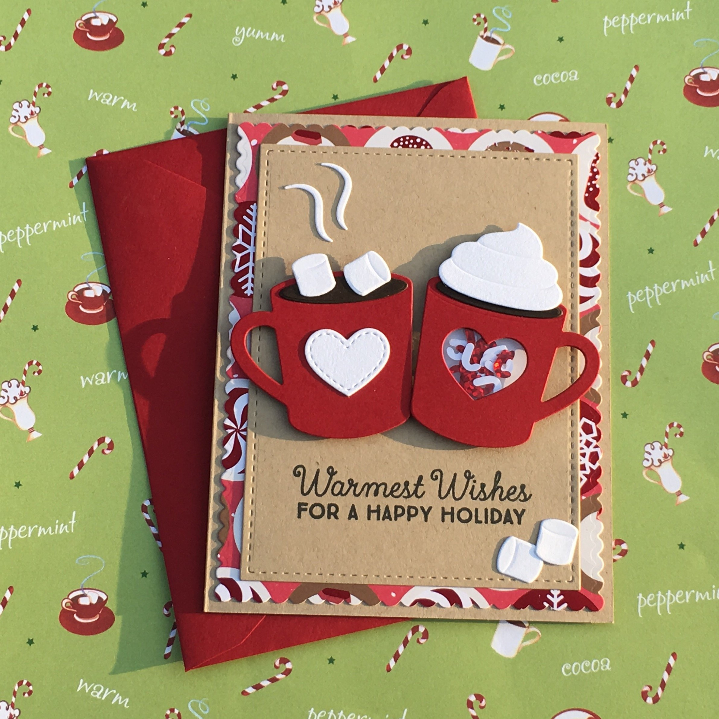 Hot cocoa card by Queeniooos