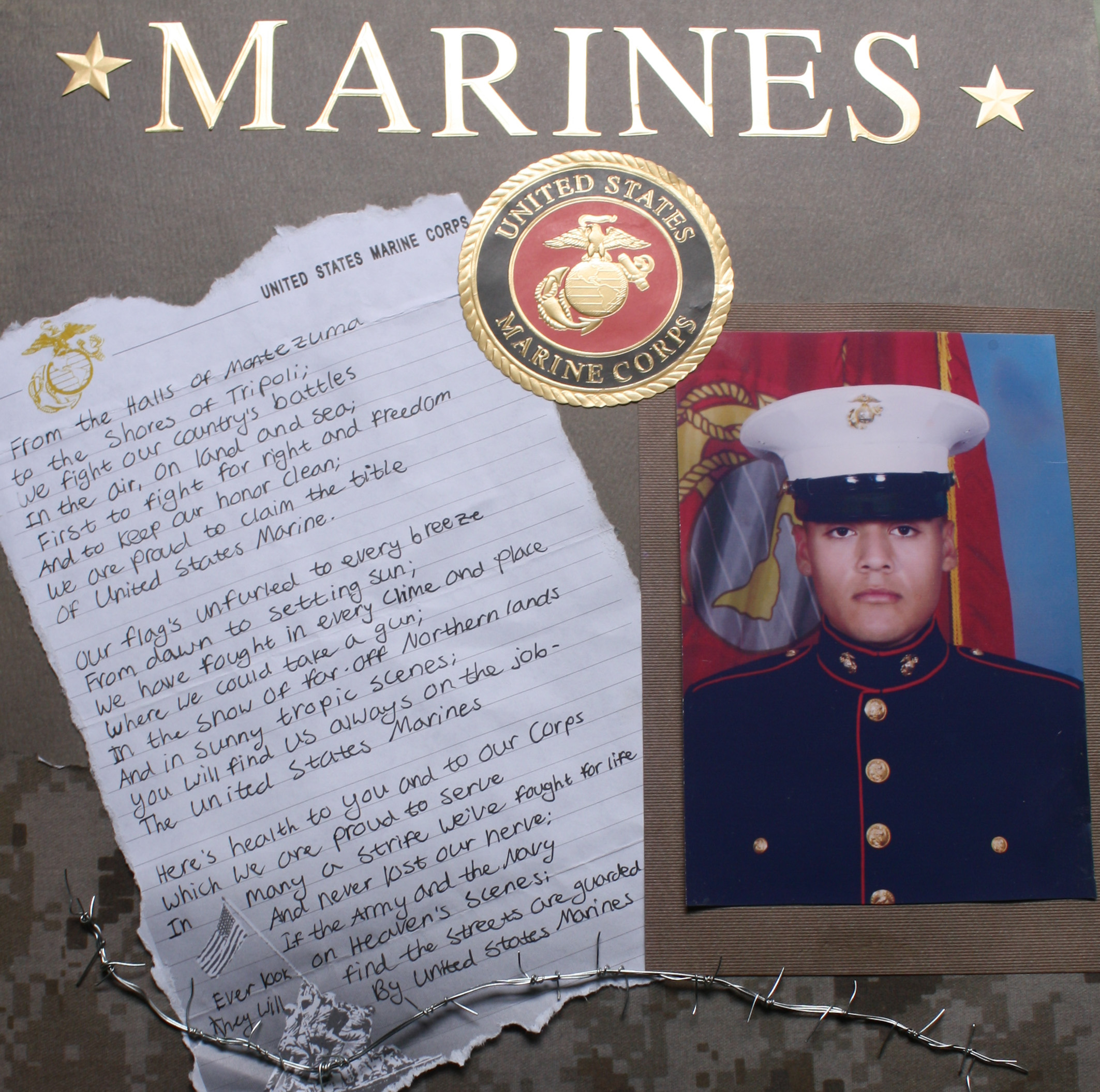 Scrapbook ideas girlfriend - 105 Best Images About Marines Scrapbooking On Pinterest Marine Corps Boot Camp Boot Camp And Usmc