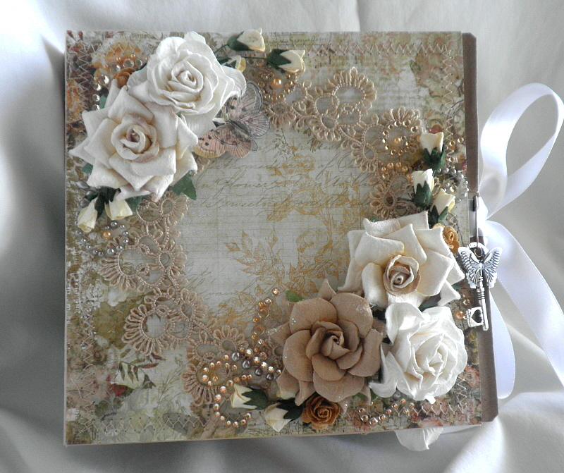 Other: Vintage Shabby Chic Lace Album
