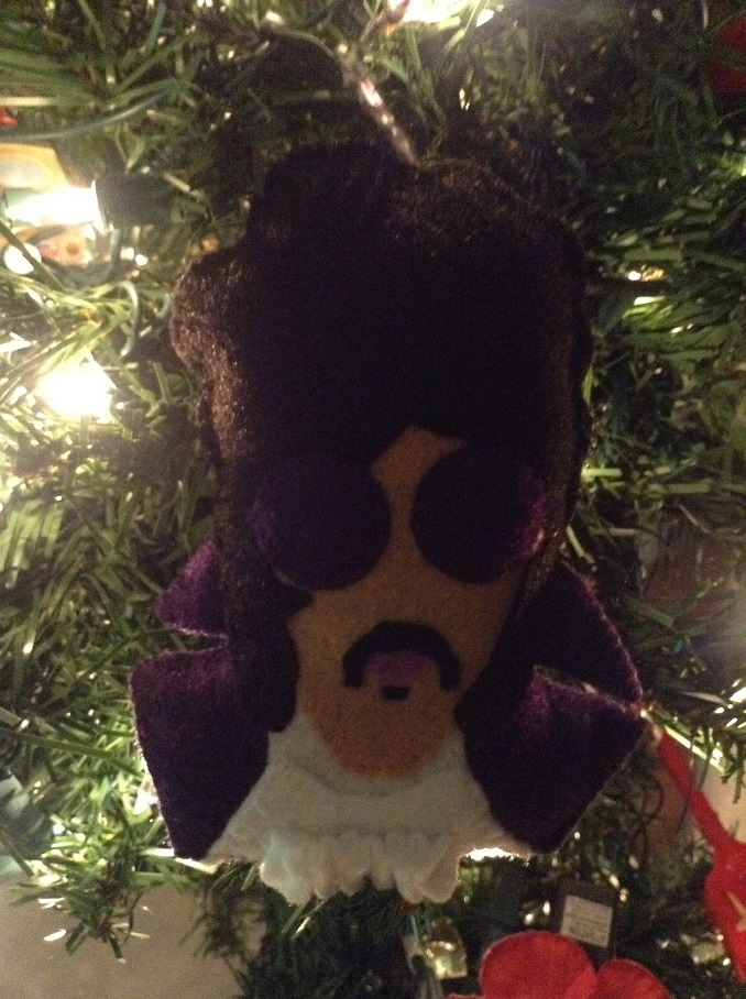 Prince Christmas Decorations.Photos Of Prince Themed Holiday Decorations