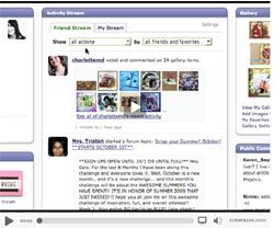 Activity Stream at Scrapbook.com