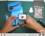 Cardmaking Video - Snowman