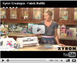 Xyron Creatopia Fabric Refillz Video
