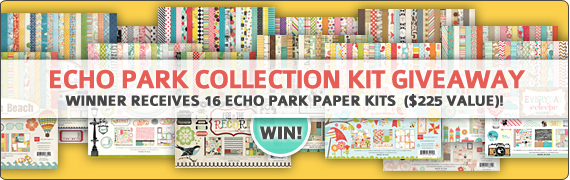 Echo Park 16-Collection-Pack Giveaway