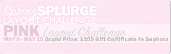 WEEK 2: Pink Challenge