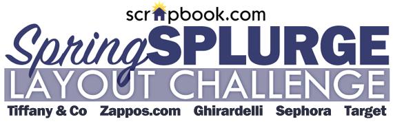 Spring Splurge Layout Challenge