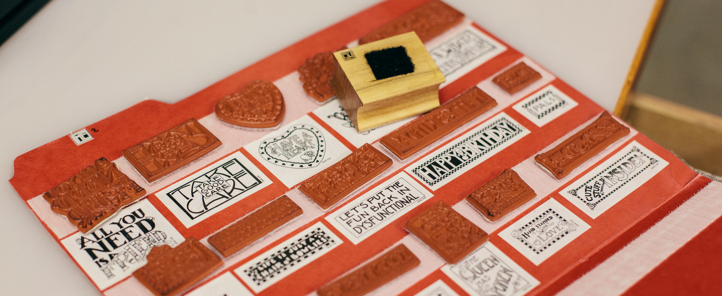 How To Organize Your Stamps And Stamping Equipment