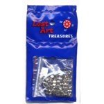 "1/8"" Nickel Mini Brads - 100 count"