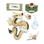 Jolee's Boutique Destinations Stickers - China
