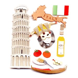 Jolee's Boutique Destinations Stickers - Italy