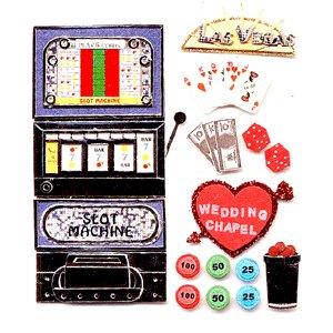 Jolee's Boutique Destinations Stickers - Las Vegas