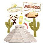 Jolee's Boutique Destinations Stickers - Mexico