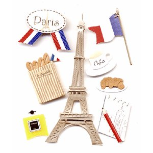 Jolee 39 s boutique destinations stickers paris - Boutique scrapbooking paris ...