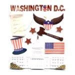 Jolee's Boutique Destinations Stickers - Washington DC