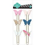 Heidi Swapp - Hello Today Collection - Memory Planner - Butterfly Clips