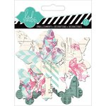 Heidi Swapp - Hello Today Collection - Memory Planner - Clear Pop Shapes - Butterflies