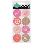 Heidi Swapp - Hello Today Collection - Memory Planner - Cardstock Stickers - The Big Day