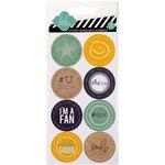 Heidi Swapp - Hello Today Collection - Memory Planner - Cardstock Stickers - U Rock