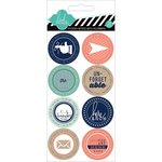 Heidi Swapp - Hello Today Collection - Memory Planner - Cardstock Stickers - Remember