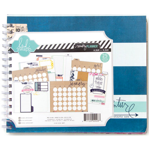 Heidi Swapp - Hello Today Collection - Album - Memory Planner - Undated