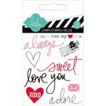 Heidi Swapp - Hello Today Collection - Memory Planner - Clear Acrylic Stamps - Mini - Always