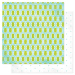Heidi Swapp - Favorite Things Collection - 12 x 12 Double Sided Paper - Lovely Lattice