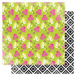 Heidi Swapp - Favorite Things Collection - 12 x 12 Double Sided Paper - Mixed Floral