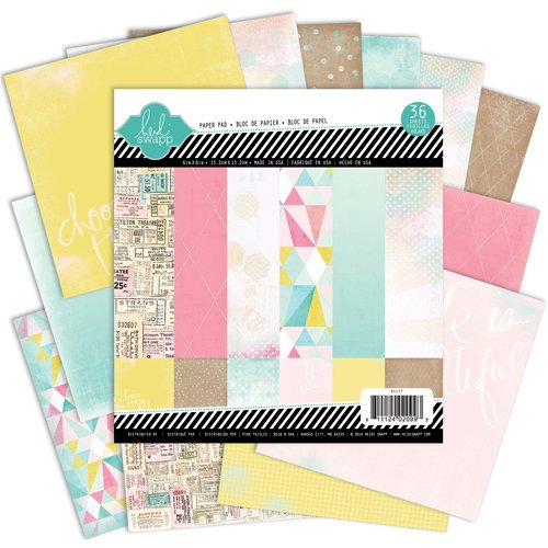 Heidi Swapp - Dreamy Collection - 6 x 6 Paper Pad