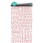 Heidi Swapp - Dreamy Collection - Puffy Glitter Stickers - Alphabet