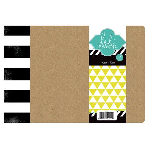 Heidi Swapp - Color Magic Collection - 6 x 8 Chipboard Album