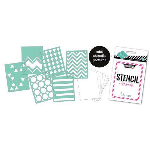 Heidi Swapp - Stencil Mini Kit - Patterns