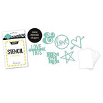 Heidi Swapp - Stencil Mini Kit - Shapes