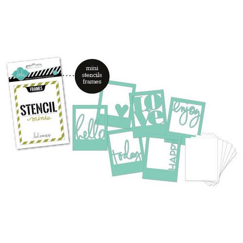 Heidi Swapp - Stencil Mini Kit - Frames